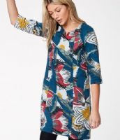 Patterned Dress by Thought - WWD3774 - Dalloway